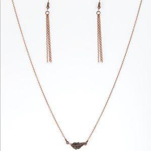 Necklace w/ earrings